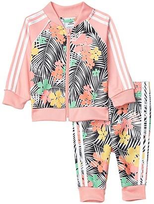 Adidas Originals Kids Festival Superstar Set (Infant/Toddler) (Glory Pink/Multicolor/Multicolor) Girl's Active Sets