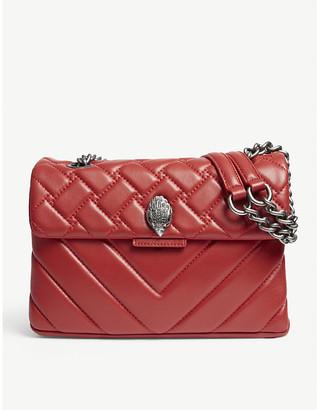 Kurt Geiger London Ladies Red Kensington Quilted Leather Cross-Body Bag