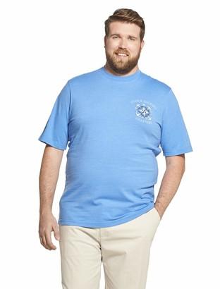 Izod Men's Short Sleeve Graphic Tee (Big & Tall)