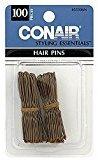 Conair 55306n Bronze Hair Pins 100 Count