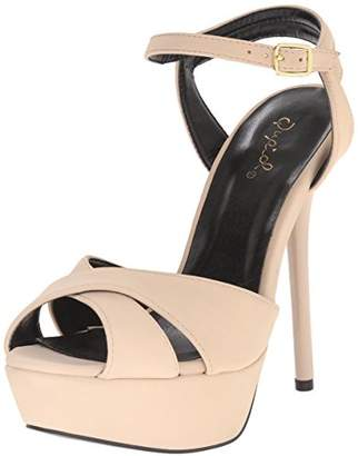 Qupid Women's Daydream-49X Dress Sandal