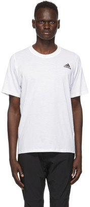 adidas White Freelift Sport Prime T-Shirt