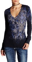 Sinful Alston V-Neck Thermal Tee