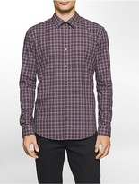 Calvin Klein Classic Fit Tonal Check Shirt