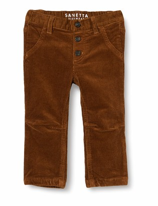 Sanetta Baby Boys' Webhose Cognac Woven Pants