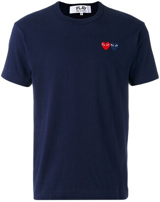 Comme des Garcons embroidered logo T-shirt
