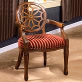Home Decorators Collection Edinburgh Accent Chair in Antique Oak Finish