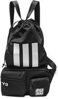 Y-3 Logo Nylon Twill Belt Pack W/ Backpack