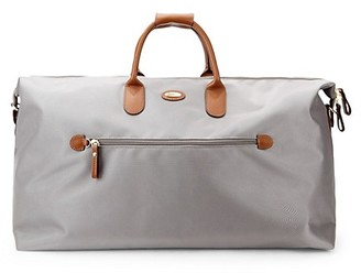"Bric's 22"" Leather-Trim Carry-On Duffel Bag"