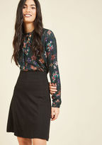 ModCloth Bring Something to the Staple A-Line Skirt in L