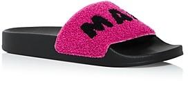 Marni Women's Logo Slide Sandals