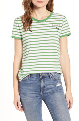 Lucky Brand Lucky You Stripe T-Shirt