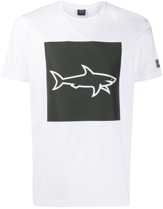Paul & Shark shark print T-shirt