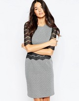 Traffic People Andram Dress With Lace Inserts