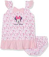 Disney Baby Girl's Minnie Mouse Romper,(Manufacturer Size:24 Months)