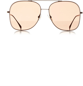 Fendi Metal Aviator-Style Sunglasses