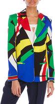 Leonard Printed Silk Jacket