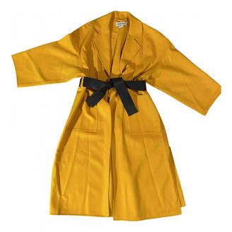 Loewe Yellow Cashmere Coats