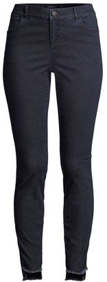Lafayette 148 New York Mercer Step Hem Skinny Jeans