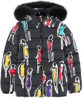 Moschino Printed down jacket
