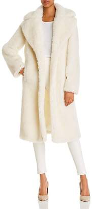 BAGATELLE.NYC Cozy Sherpa Faux Fur Coat - 100% Exclusive