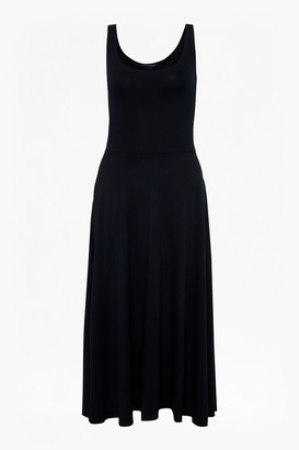 French Connection Hope Jersey Fit And Flare Dress