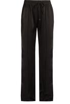 Versace Satin-knit track pants