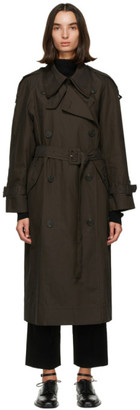Low Classic Brown Classic Trench Coat