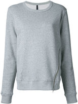 Nobody Denim - Organic Zip Sweat True Marl - women - Organic Cotton - XS