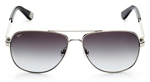 Juicy Couture Bling Detail Aviator Sunglasses