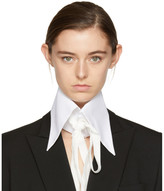 Ann Demeulemeester White Byron Shirt Collar