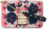Furla magnolia printed cross body bag
