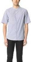 Baldwin Denim Freddy Half Sleeve Yarn Dyed Shirt