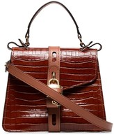 Chloé Aby crocodile-effect shoulder bag