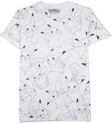Novelty T-Shirts Pokmon Pikachu Toss Graphic Tee
