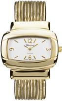 Geneva Platinum Goldtone Snake Chain Band Bracelet Watch