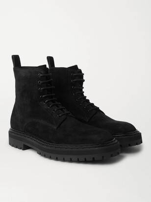 Officine Creative Pistols Suede Lace-Up Boots