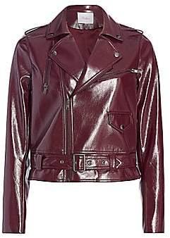 Parker Women's Cooper Faux Leather Moto Jacket