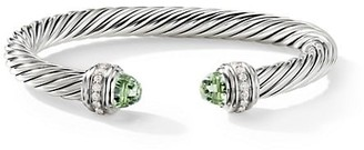 David Yurman Cable Classics Sterling Silver, Diamond & Gemstone Cable Bracelet