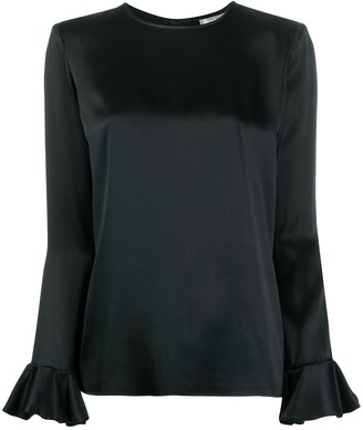 Yves Saint Laurent Pre Owned Round Neck Blouse