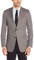 Tommy Hilfiger Men's Grey Herringbone Sport Coat, Grey