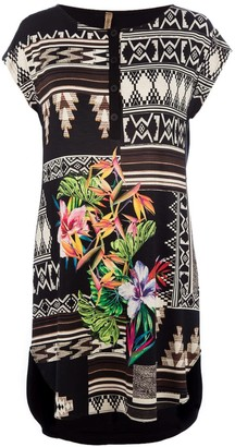 Conquista Jungle Print Tunic