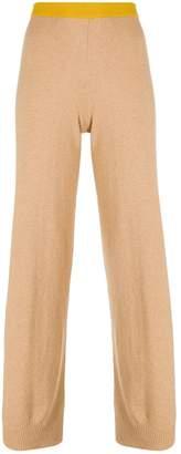 Semi-Couture Semicouture stripe detail trousers