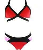 Relaxlama Women's Padded Push Up Bikini Set Bandage Swimwear