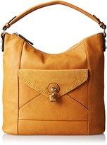 MG Collection Linnea Top Handle Slouchy Shopper Hobo Shoulder Bag