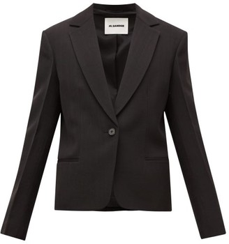 Jil Sander Single-breasted Notched-lapel Blazer - Black