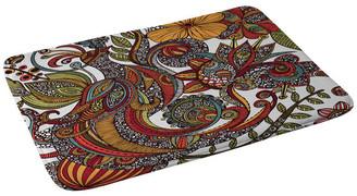 "Deny Designs Valentina Ramos Paradise Bird Memory Foam Bath Mat, 24""x36"""