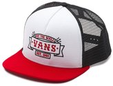 Vans Off The Wall Men's Crest Trucker Hat Cap