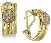 Effy D'Oro by Diamond Disc Hoop Earrings (1/3 ct. t.w.) in 14k Gold