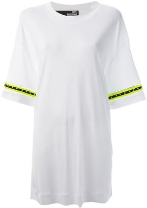 Love Moschino embellished sleeve shift dress